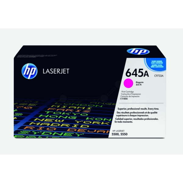 HP C9733A (645A) Toner magenta, 12K pages @ 5% coverage ...
