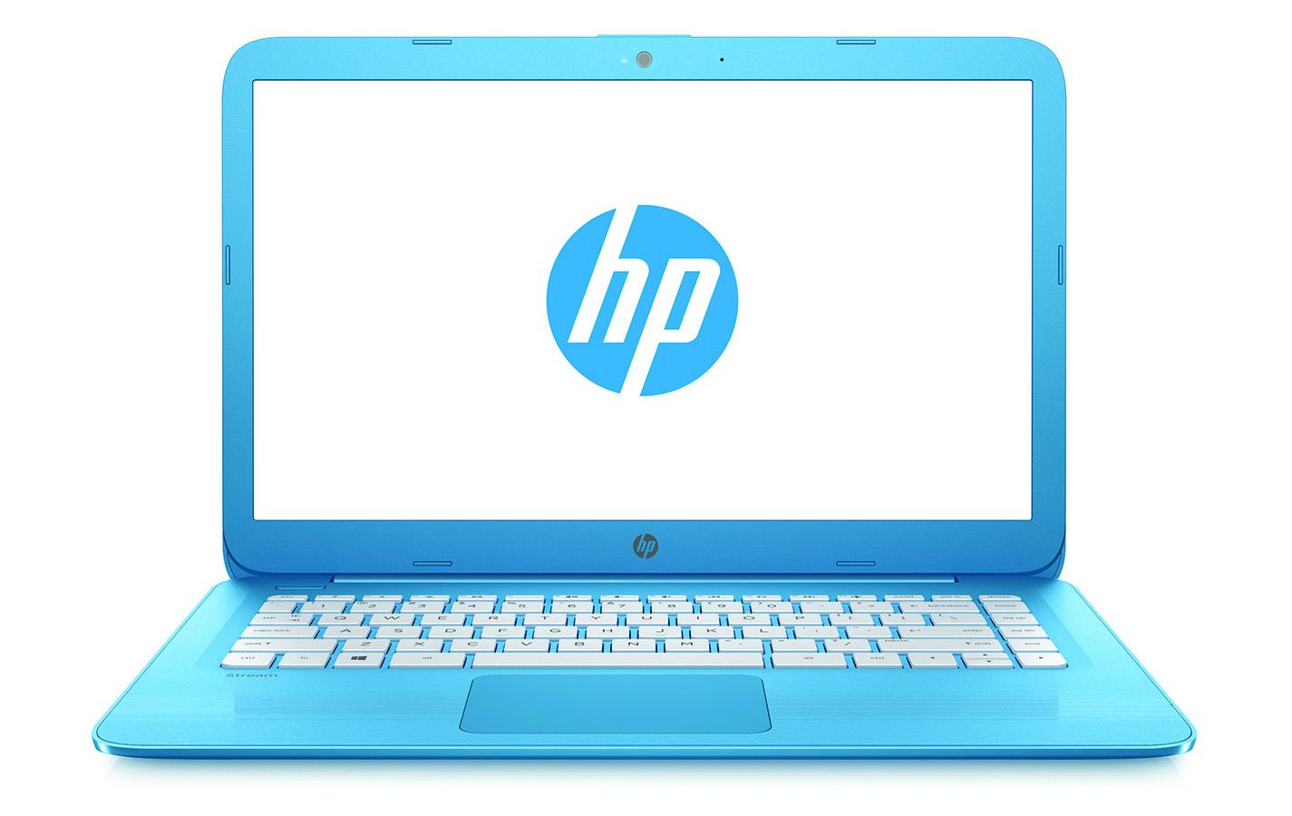 "HP Stream 14-cb007na Blue Notebook 35.6 cm (14"") 1366 x 768 pixels 1.6 GHz Intel® Celeron® N3060"