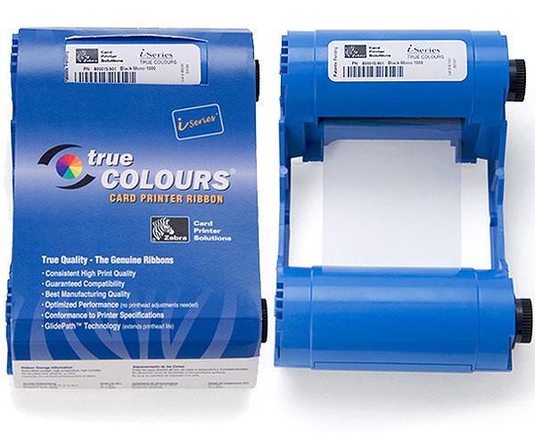 Zebra Monochrome Ribbon Black cinta para impresora 1000 páginas