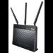 ASUS DSL-AC68U Dual-band (2.4 GHz / 5 GHz) Gigabit Ethernet 3G Black wireless router