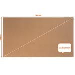 Nobo Impression Pro Widescreen Cork Noticeboard Aluminium Frame 1880x1060mm DD