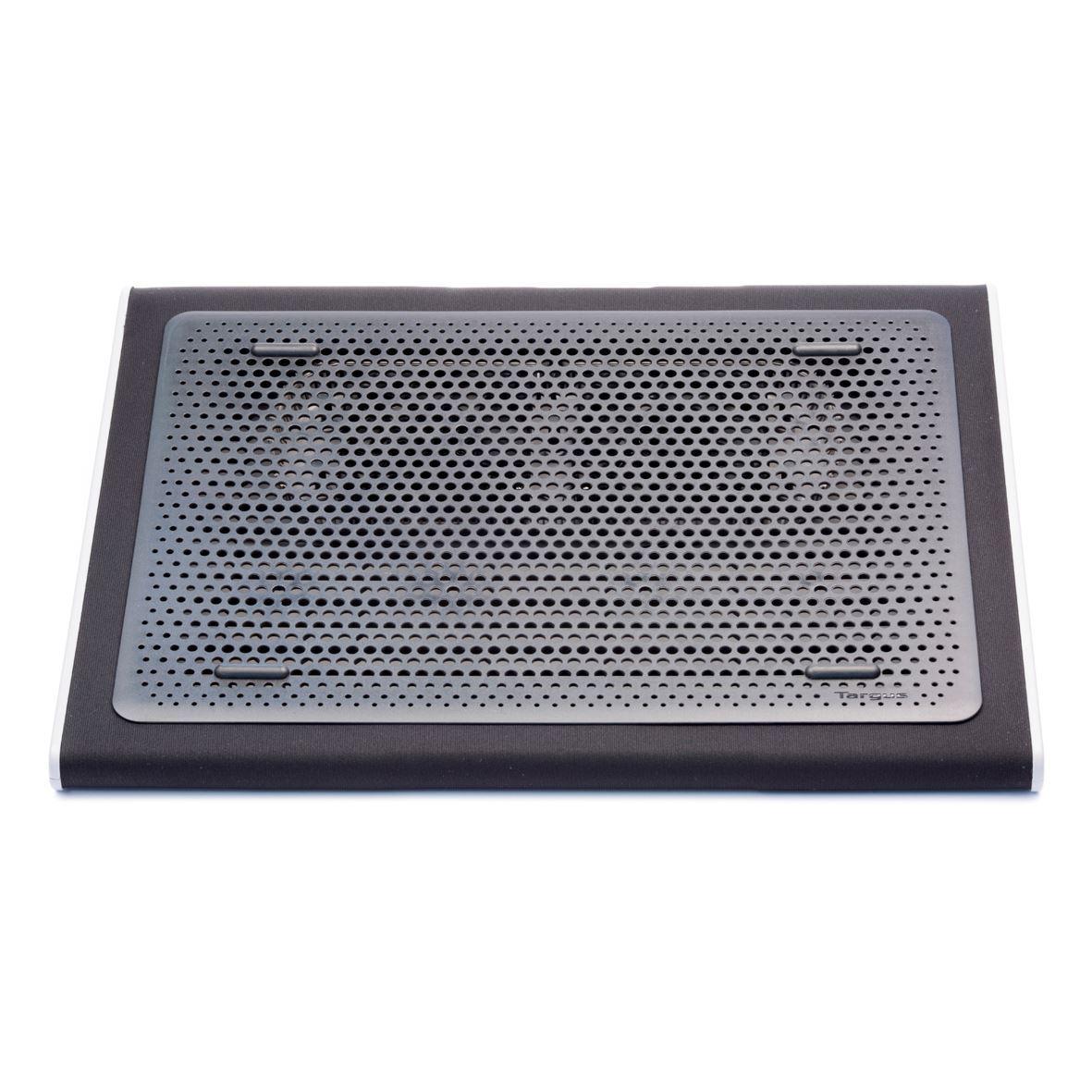 "Targus AWE55GL notebook cooling pad 43.2 cm (17"") 1900 RPM Black, Grey"