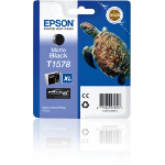 Epson C13T15784010 (T1578) Ink cartridge black matt, 26ml
