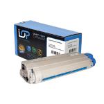 Click, Save & Print Remanufactured Oki 44318607 Cyan Toner Cartridge