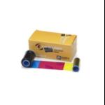 Zebra 800350-264EM printer ribbon 200 pages Black, Cyan, Magenta, Silver, Yellow