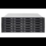 QNAP TS-2483XU-RP E-2136 Ethernet LAN Rack (4U) Zwart NAS