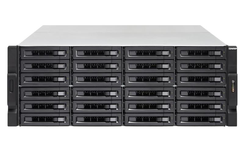 QNAP TS-2483XU-RP E-2136 Ethernet Bastidor (4U) Negro NAS