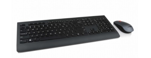 Lenovo 4X30H56824 keyboard RF Wireless QWERTY Finnish,Swedish Black
