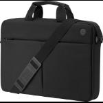 "HP Prelude Top Load 15.6 notebook case 39.6 cm (15.6"") Briefcase Black"