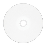Verbatim DVD-R 4.7GB 8X DataLifePlus, White Thermal Printable, Hub Printable 50pk Spindle 50 pcs