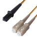 Connekt Gear 3M Orange SC to MT 50/125 Micron OM2 Duplex Fibre Optic Patch Cable MultiMode LSZH