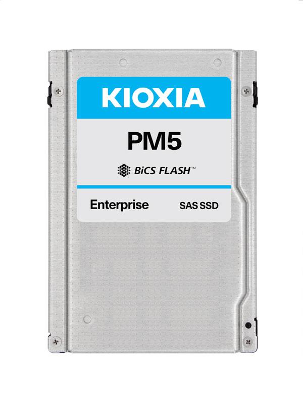 """Kioxia PM5-V 2.5"""" 400 GB SAS 3D TLC"""