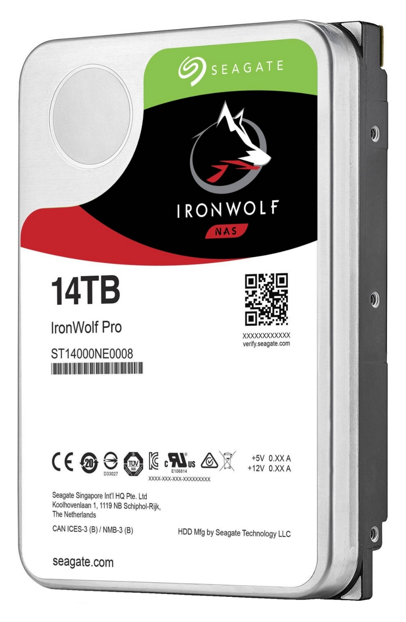 """Seagate IronWolf Pro 3.5"""" 14000 GB Serial ATA III"""