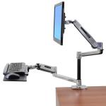 """Ergotron WorkFit 45-405-026 monitor mount / stand 106.7 cm (42"""") Aluminium"""