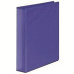 White Box WB PRES 4D RINGBINDER BLUE 65MM