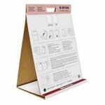 Bi-Office BI OFFICE TABLE TOP FLIPCHART PAD 20SHTS