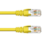 FDL 0.5M CAT.6 UTP PATCH CABLE - YELLOW