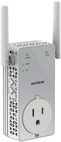 Netgear EX3800-100UKS network extender Network repeater White