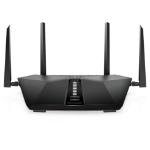 Netgear Nighthawk AX5400 wireless router Dual-band (2.4 GHz / 5 GHz) Gigabit Ethernet Black