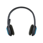 Logitech H600 Binaural Head-band Black,Blue