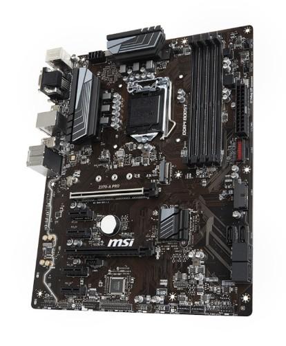 MSI Z370-A PRO LGA 1151 (Socket H4) ATX