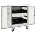 Tripp Lite CSC32ACW portable device management cart/cabinet White