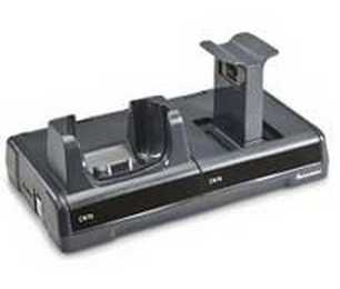 Intermec CN70/70e Single Desktop FlexDock - Black/Grey - (DX1A01A20)
