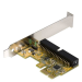 StarTech.com 1 Port PCI Express IDE Controller Adapter Card PEX2IDE