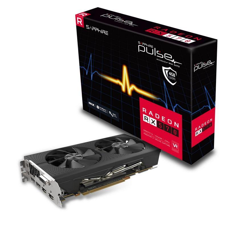 Sapphire RADEON RX 570 4GB GDDR5 PULSE Radeon RX 570 4GB GDDR5