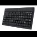 Adesso AKB-110B USB + PS/2 QWERTY Black keyboard