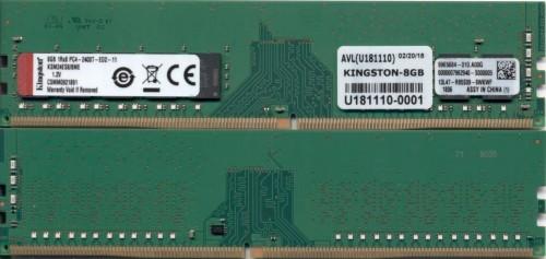 Kingston Technology KSM24ES8/8ME memory module 8 GB DDR4 2400 MHz ECC