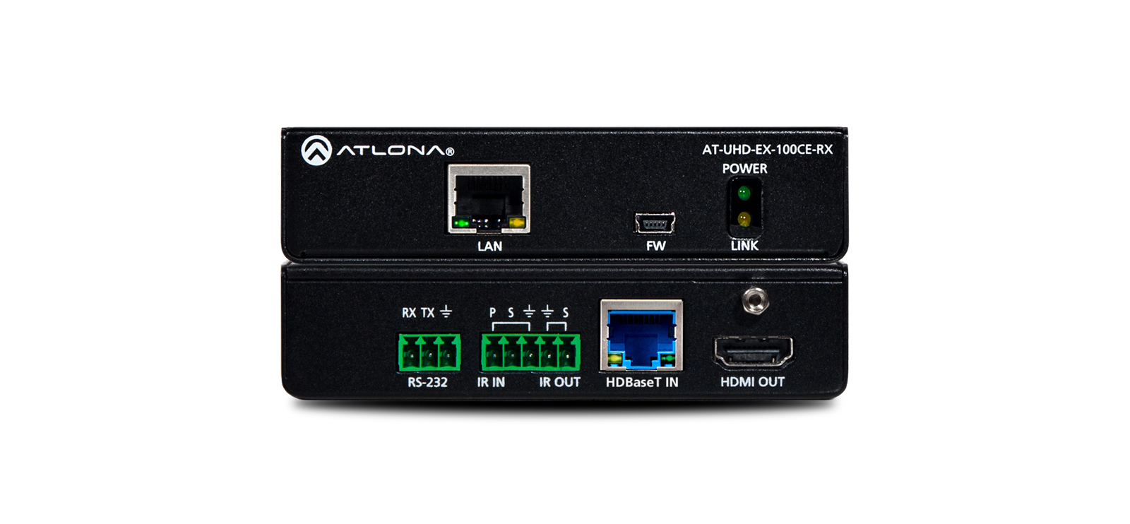 4k/uhd Hdmi Over 100m Hdbaset Receiver With Ethernet Control And Poe