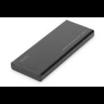 Digitus DA-71111 caja para disco duro externo Caja externa para unidad de estado sólido (SSD) Negro