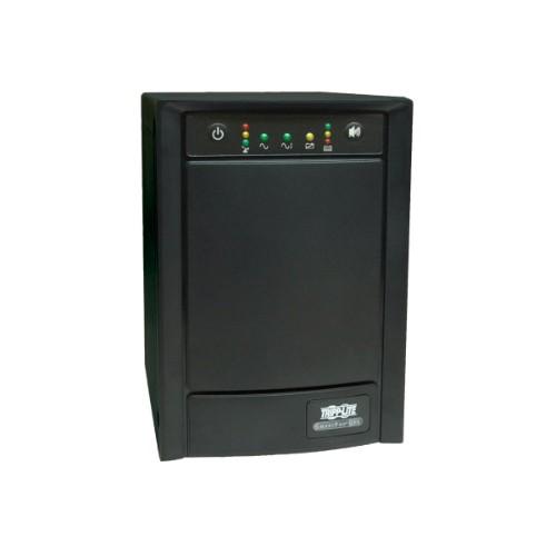 Tripp Lite UPS Smart 750VA 500W 230V Tower AVR Line-Interactive Sine Wave, Network Card Options, USB, DB9 Serial