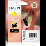 Epson Flamingo Cartucho T0874 amarillo