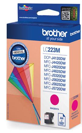 Brother LC-223MBP cartucho de tinta Original Magenta 1 pieza(s)
