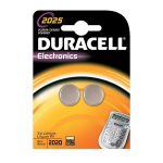Duracell Specialties - Electronics batteries 2025 2PK Lithium 3V non-rechargeable batteryZZZZZ], 75072667