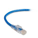 Black Box C6PC60-BL-03M networking cable Blue 3 m Cat6 U/UTP (UTP)
