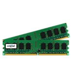 Crucial 4GB DDR2 4GB DDR2 800MHz memory module CT2KIT25664AA800