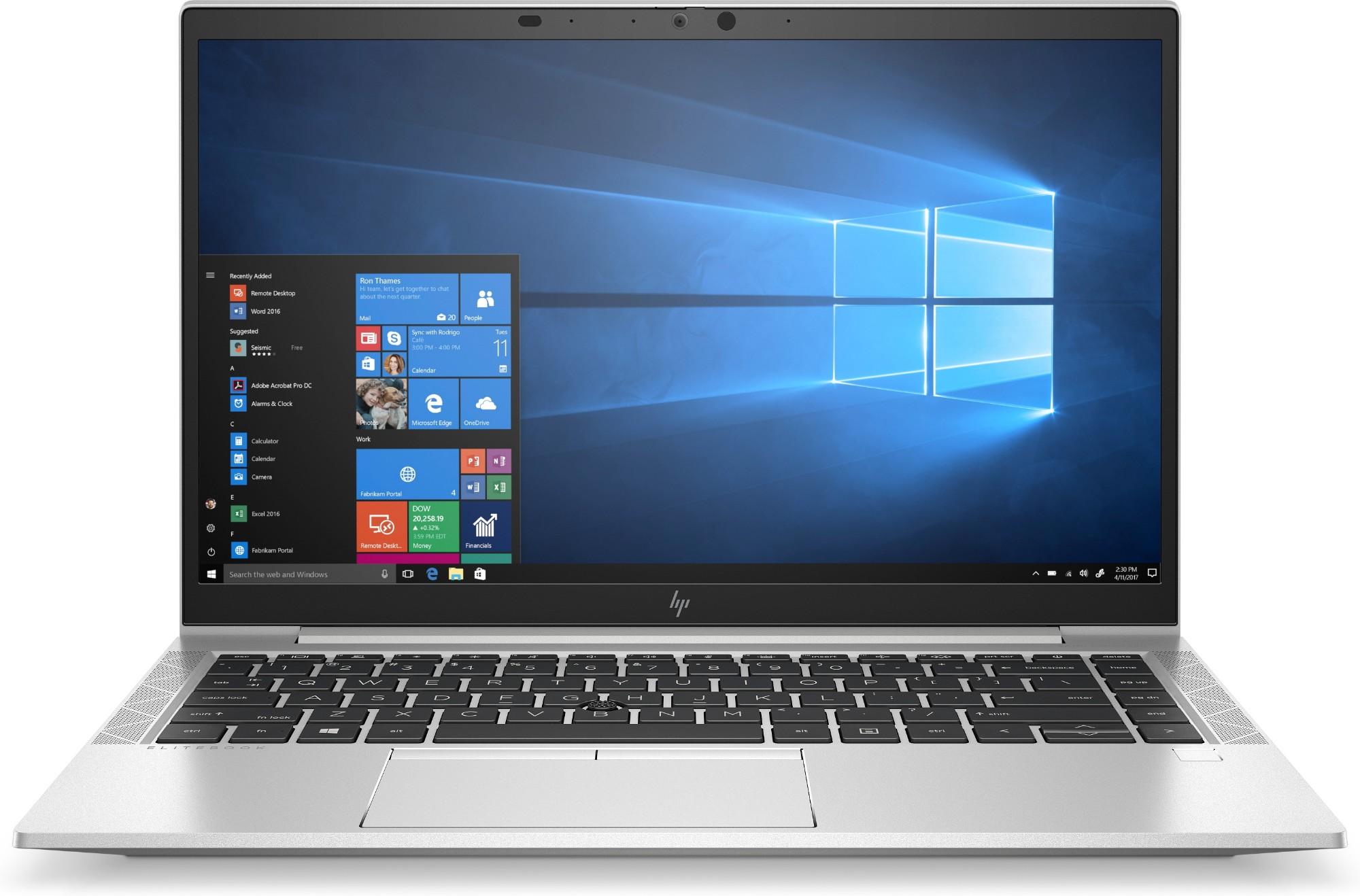 "HP EliteBook 840 G7 Notebook 35.6 cm (14"") Full HD 10th gen Intel-� Core��� i5 8 GB DDR4-SDRAM 256 GB SSD Wi-Fi 6 (802.11ax) Windows 10 Pro Silver"