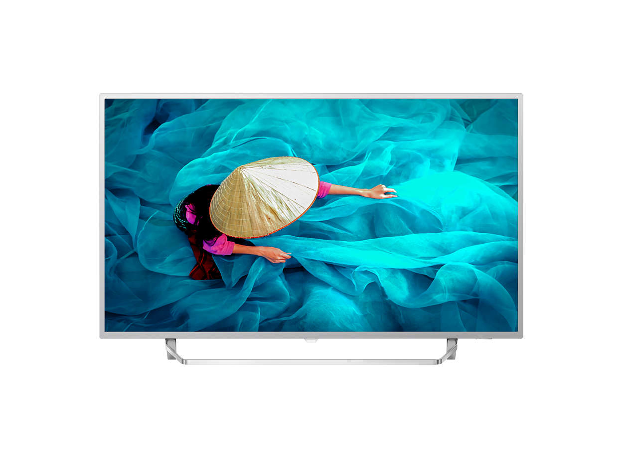 "Philips 65HFL6014U/12 TV 165.1 cm (65"") 4K Ultra HD Smart TV Wi-Fi Silver"