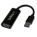 StarTech.com Slim USB 3.0 to VGA External Video Card Multi Monitor Adapter – 1920x1200 / 1080p