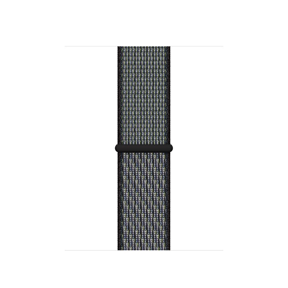 Apple MXN12ZM/A smartwatch accessory Band Black,Indigo,Lime Nylon