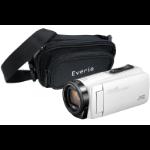 JVC GZ-R495 White 4GB Memory HD Quad Proof Camcorder inc Everio Case