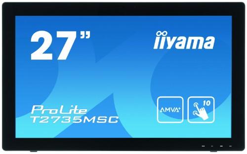 "iiyama ProLite T2735MSC-B2 27"" 1920 x 1080pixels Multi-touch touch screen monitor"