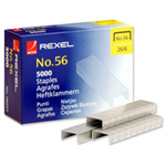 Rexel No. 56 (26/6) Staples (5000)