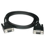 Null Modem Cable Db9 F/f 3m Black