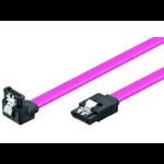 Microconnect SAT15005A1C SATA cable 0.5 m Pink