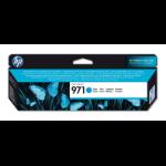 HP 971 Origineel Cyaan 1 stuk(s) Normaal rendement