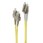 ALOGIC 3m LC-SC Single Mode Duplex LSZH Fibre Cable 09/125 OS2